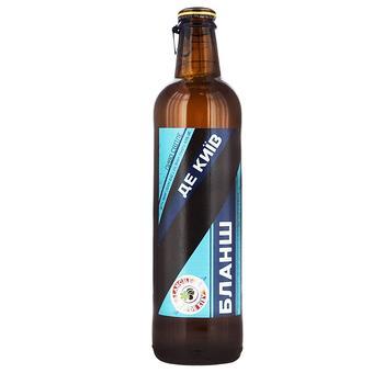 Пиво УПХ Бланш де Київ світле 4.9% 0,42л - купити, ціни на Ашан - фото 1