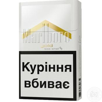Сигареты Marlboro Gold Original