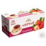 Tea Azerchay strawberries with cream black packed 25pcs 45g