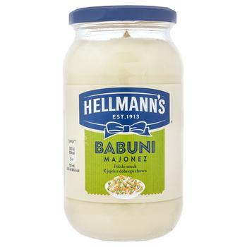 Майонез Hellmann's Babuni 65% 420мл