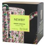 Чай Newby Green Sencha зелений байховий 100г