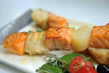 Шашлик рибно-овочевий