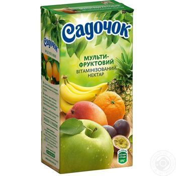 Нектар Садочок мультифруктовый 0,5л
