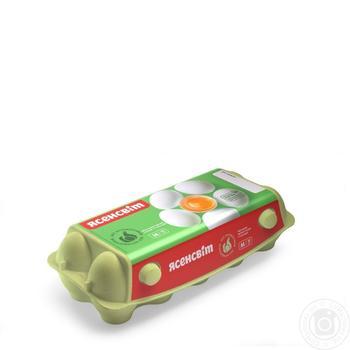 Яйца куриные Ясенсвит С1 10шт - купить, цены на Novus - фото 2