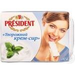 Cream-cheese President with wallnut flavour 18% 180g