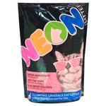 Neon Pink Quartz Cat Litter 4l