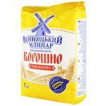 Vinnytskyi Mlynar Wheat Flour high grade 1kg