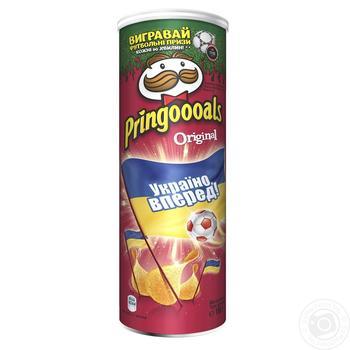 Чипсы Pringles Original 165г - купить, цены на Novus - фото 4