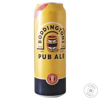 Пиво Boddington's Pub Ale светлое 4,6% 0,5л