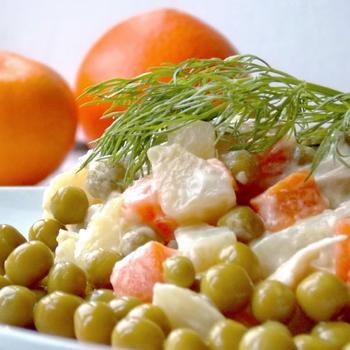 Олів'є з оливками