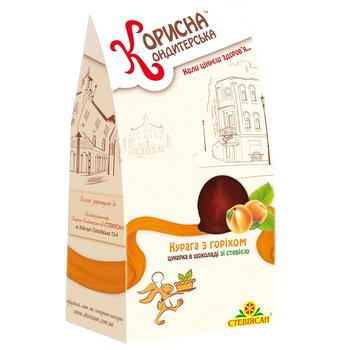 Korysna Kondyterska Dried Apricots with Nuts and Stevia Candy 150g - buy, prices for CityMarket - photo 2