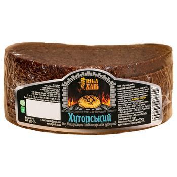 Хлеб Riga Хуторской 220г - купить, цены на СитиМаркет - фото 1