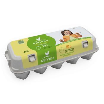 Kvochka Chicken Eggs C1 10pcs - buy, prices for Furshet - photo 2