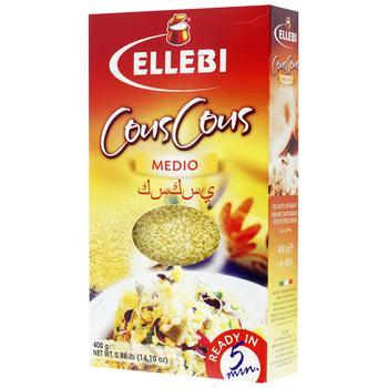 Ellebi Medio Durum Wheat Couscous 400g