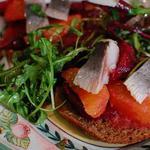 Салат із оселедця і буряка з апельсиновою заправкою