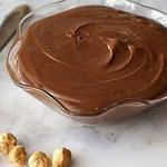Шоколадний кисломолочний сир з арахісом