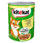 Kitekat conserve for cats with chicken 400g