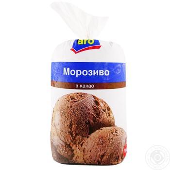 Aro Ice cream chocolate flavor 1kg - buy, prices for Metro - image 1