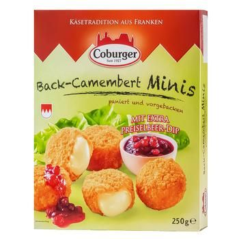 Coburger Cheese balls with cranberries 45% 250g - buy, prices for Metro - photo 1
