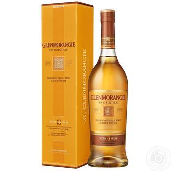 Виски Glenmoranjie Original 40% 0,7л - купить, цены на Фуршет - фото 2