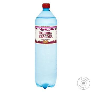 Sparkling medical-table water Polyana Kvasova 1,5l - buy, prices for MegaMarket - image 1