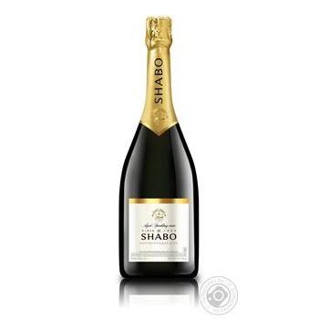 Вино игристое Shabo Classic белое полусладкое 10.5-13.5% 0,75л - купить, цены на Novus - фото 1