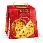 Кекс Dolce Forneria 750 г Панетоне з родзинками та цукатами (Італія)