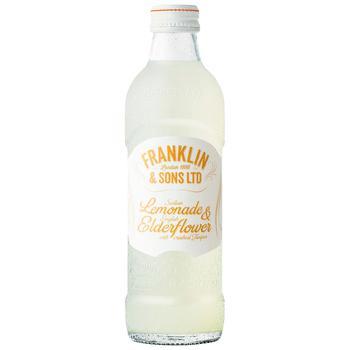 Напій газований Franklin & Sons лимонад та бузина 0,275л - купити, ціни на CітіМаркет - фото 1