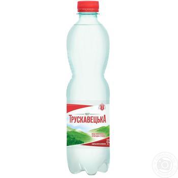 Миниральная вода Трускавецкая сильногазированная пластиковая бутылка 500мл