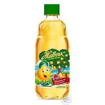 Напиток безалкогольный Живчик с соком яблока соковый сильногазированный 0,5л