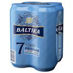 Baltika №7 4pcs 5,4% 0,5l