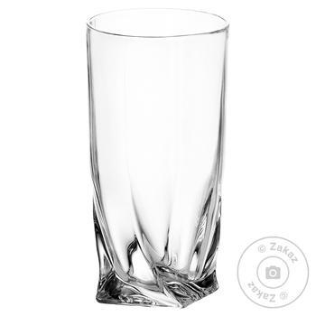 Набор стаканов Bohemia Quadro 6шт 350мл - купить, цены на Метро - фото 2