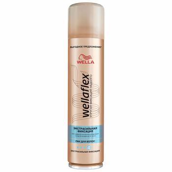 Лак для волос Wellaflex Объем экстрасильная фиксация 400мл