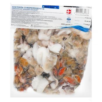 Коктейль Nordic Seafood із морепродуктів заморожений 300г - купити, ціни на Восторг - фото 1