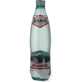 Вода Borjomi минеральная газированная 0,5л ПЭТ