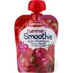 Puree Semper strawberry for children from 6 months 90g