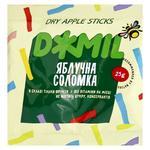 Чипсы Джмиль фруктовые яблоко соломка 40г