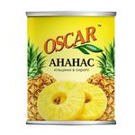 Pineapple slices Oscar in syrup 565g - buy, prices for Furshet - image 1