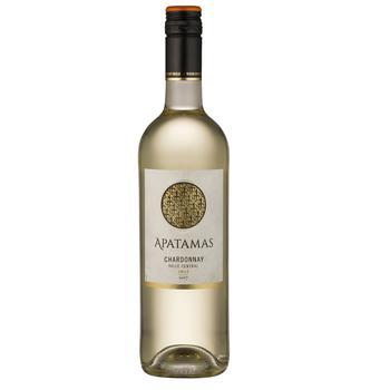 Вино Apatamas Chardonnay сухое белое 0,75л