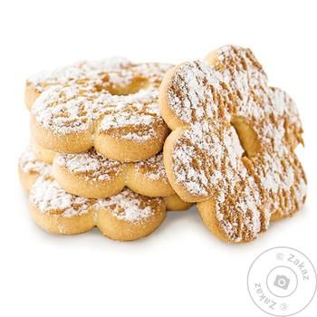Cookies Delicia Homemade with powdered sugar 2300g Ukraine