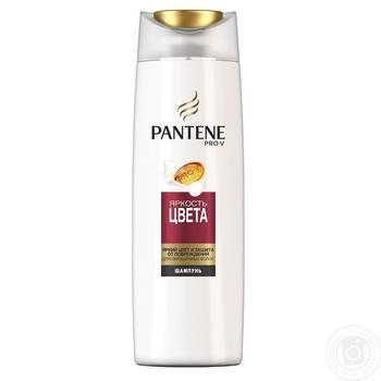 Шампунь Pantene Pro-V Яскравість кольору для фарбованого волосся 400мл - купити, ціни на Метро - фото 1