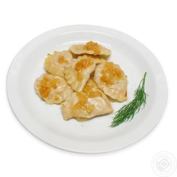 Вареники з картоплею і смаженою цибулею - купити, ціни на Фуршет - фото 1