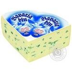 Cheese Bergader Bavaria blu with mold 70%