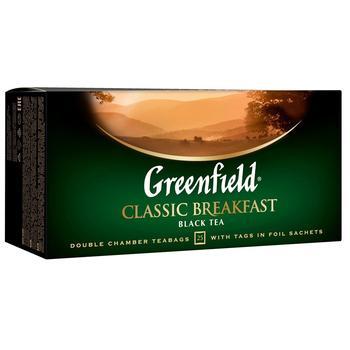 Чай Гринфилд Класик Брекфест черный 2г х 25шт