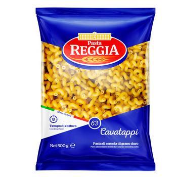 Макароны Pasta Reggia Cavatappi №63 500г - купить, цены на Ашан - фото 1