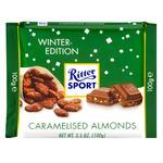 Шоколад Ritter Sport молочный с карамелизированным миндальными орехами 100г