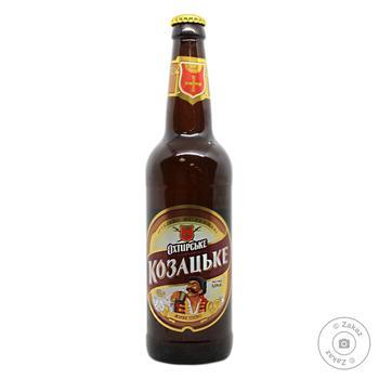 Пиво Охтирське Козацьке светлое живое 6.8% 0.5л