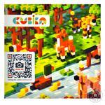 Дерев'яний конструктор-сюрприз Cubika World Тварини - купити, ціни на Фуршет - фото 1