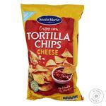 Чипсы Santa Maria Tortilla кукурузные с сыром 185г