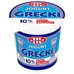 Йогурт Mlekovita Грецький натуральний 10% 400г